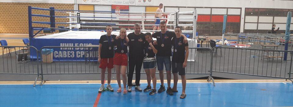 Prvenstvo Srbije u kik-boksu,disciplina low-kick!